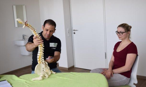 Akutsprechstunde bei Physiotherapeut Christian Zimpel