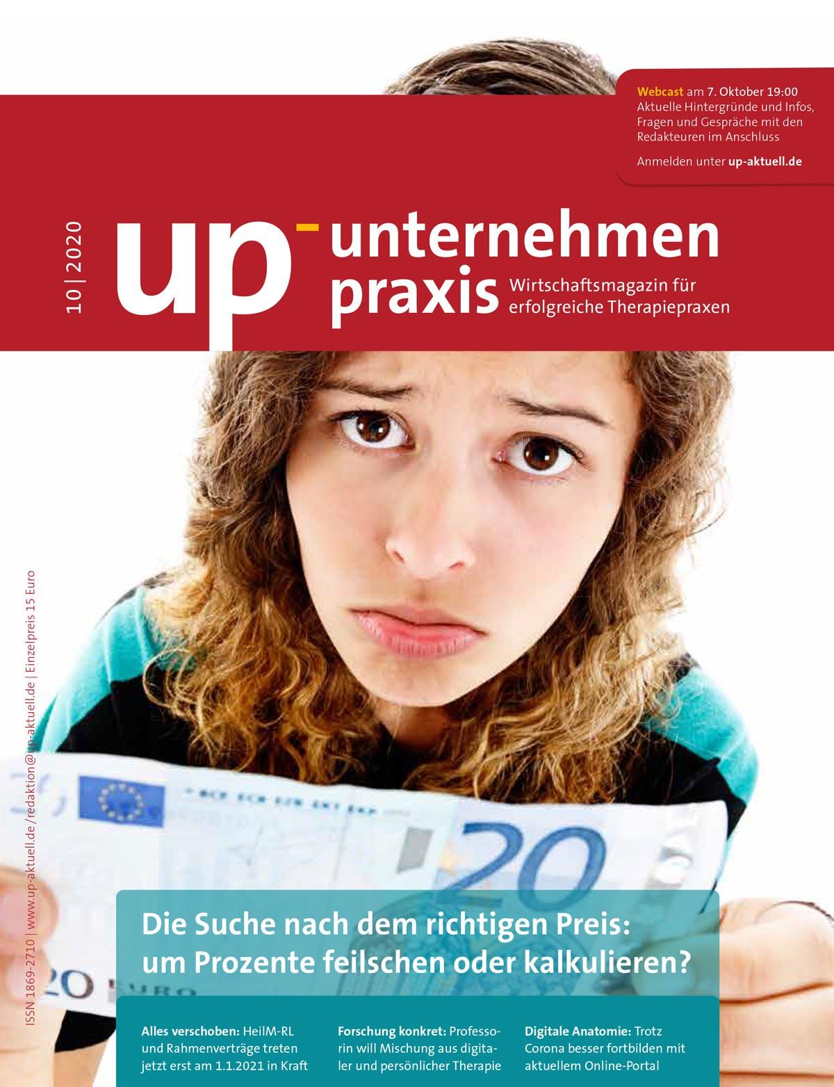 Ausgabe 10/2020 – Die Suche nach dem richtigen Preis: um Prozente feilschen oder kalkulieren?